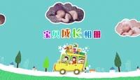 一家去旅行可爱儿童卡通相册PR模板\(CC2017\)
