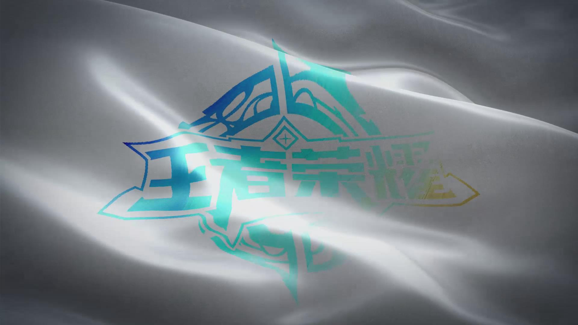 王者荣耀旗帜飘动视频动画
