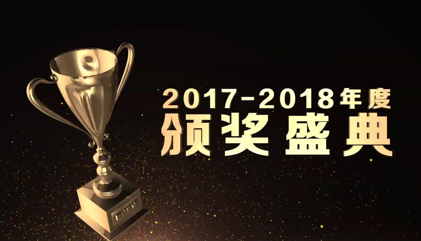 原创2019年年会颁奖典礼开场AE模板