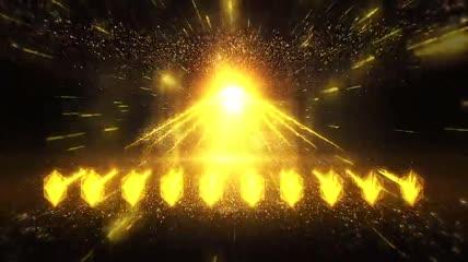 十人震撼启动仪式EDIUS模板