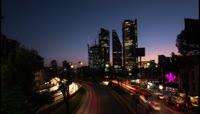 城市自然风景延时摄影