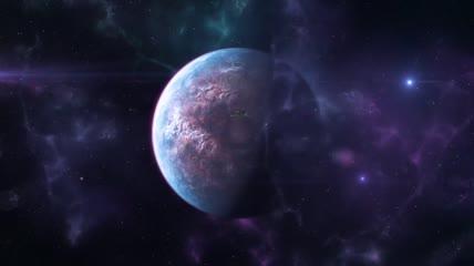 宇宙太空船LOGO片头AE模板