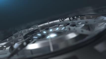 高科技金属仪器片头AE模板