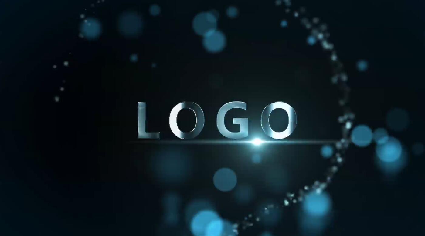 唯美粒子LOGO演绎AE模板