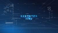 蓝色科技企业图文展示AE模板(CC2017)