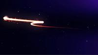 动感光线粒子背景