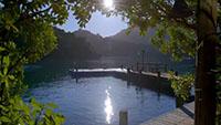 湖景房 窗外的风景景色