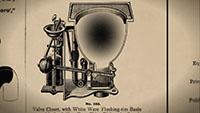 坐便器发明机械原理二维动画_马桶历史博物馆