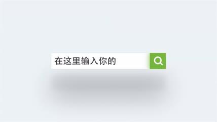互联网搜索公司网站LOGO片头AE模板