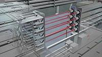 热核聚变实验室试验_高能核反应3d三维动画视频素材