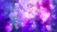 蓝色梦幻粒子动态背景