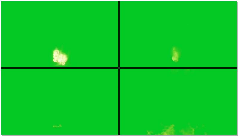 绿屏抠像各种爆炸火焰