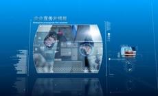 蓝色科技感企业宣传片图文展示AE模板\(CC2017\)