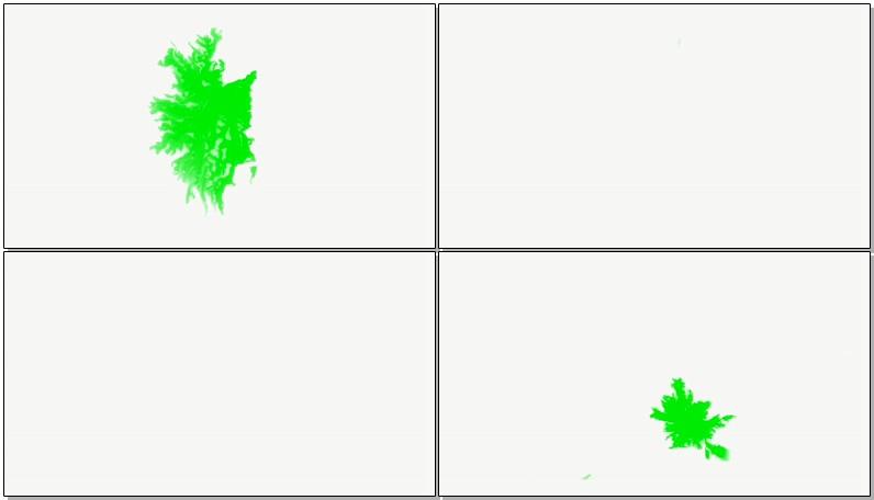绿屏抠像水墨浸透效果