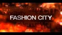 时尚的城市