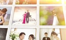 唯美爱情婚礼相册AE模板
