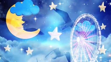 六一儿童节《向快乐出发》配乐成品视频素材