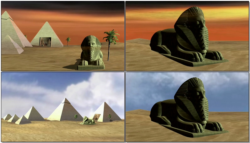 埃及金字塔狮身人面像