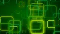 时尚炫酷绿色方块LED背景视频素材