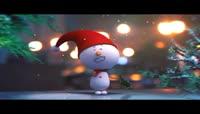 可爱圣诞小雪人