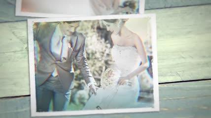 结婚纪念回忆相册AE模版