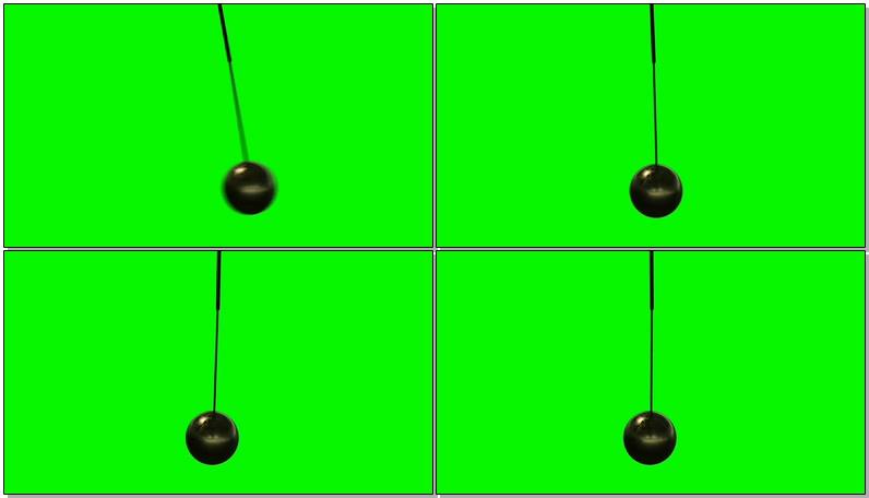 绿屏抠像摆动球摆
