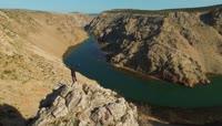 欧洲旅游克罗地亚自然风光高清实拍视频素材