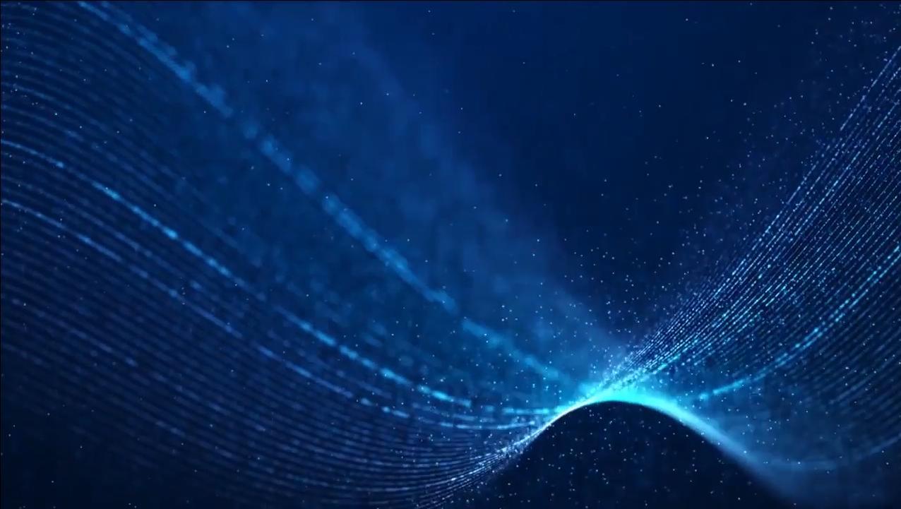 大气蓝色粒子线条动态背景视频素材