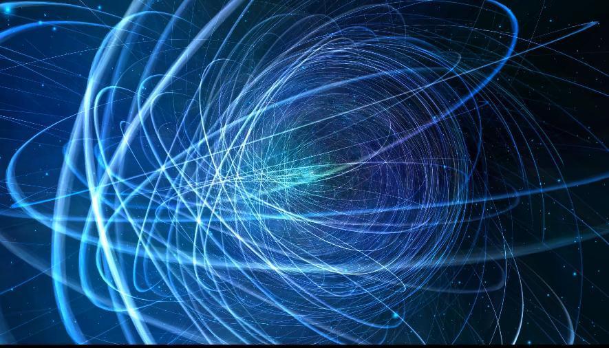 科技光线动态背景视频素材