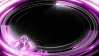 紫色前景动态边框栏