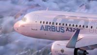 空客A320商务大飞机