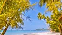 高清4k视频大海海滩海南旅游观光精品素材