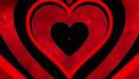心动感爱心发散爱心