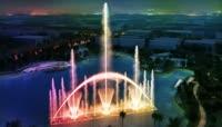 超美音乐喷泉视频