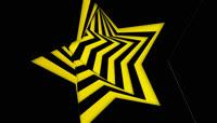 眩晕星星转场视频素材