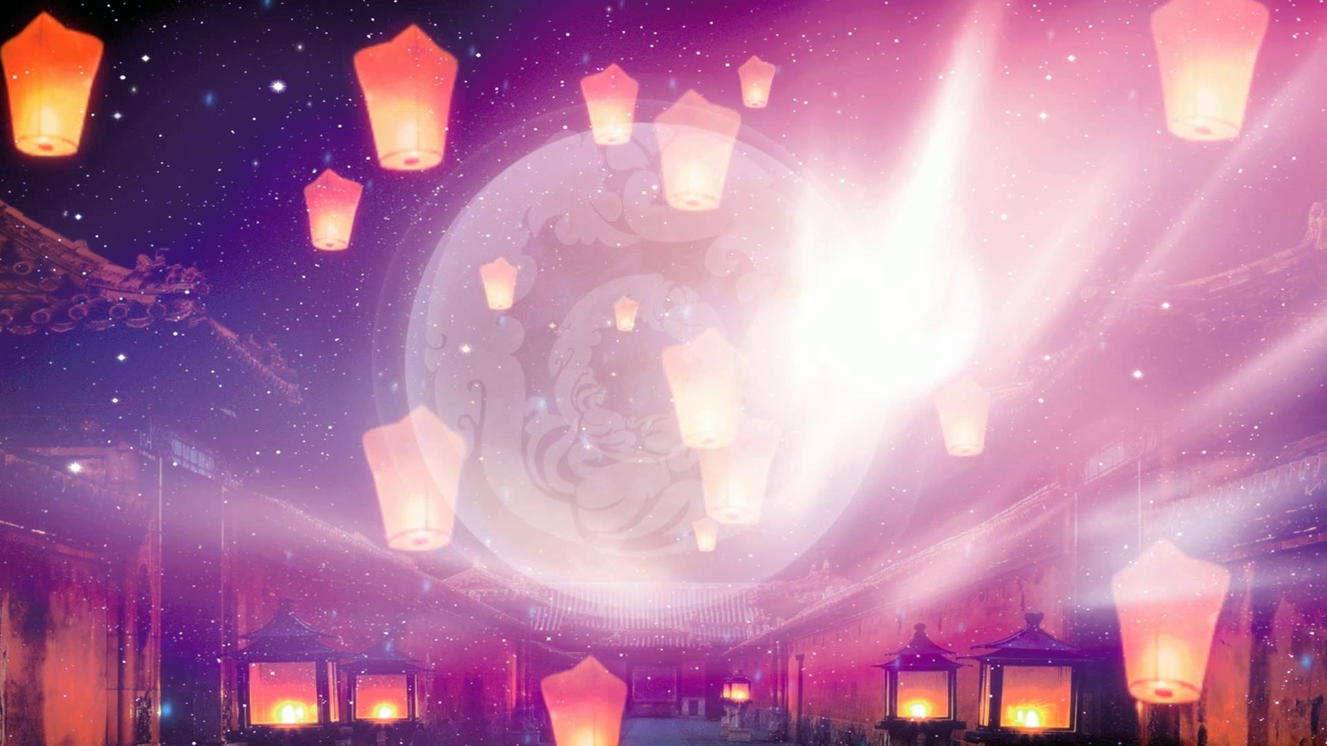 中秋节背景视频