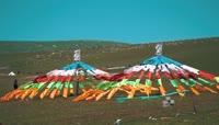 甘肃青海西北大环线自然风光视频素材