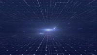科技空间线条循环背景