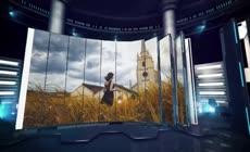 会声会影x10时尚炫酷的3D屏幕相册展示