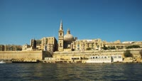 马耳他海岛旅游高清实拍视频素材