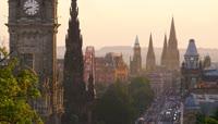 苏格兰爱丁堡名胜古迹高清实拍视频素材