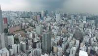 日本京东城市风光延时摄影视频素材
