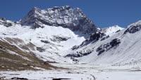 喜马拉雅雪域高原高清实拍视频素材