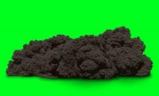 绿屏抠像各种爆炸烟雾效果