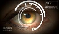 科技扫描眼睛