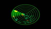 雷达扫描视频素材