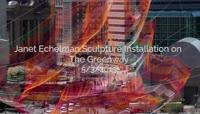 城市重力想象搭建延时素材
