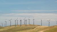 实拍视频-风力发电