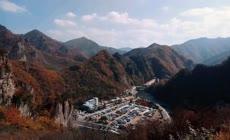 秋天掠影山区红叶延时摄影