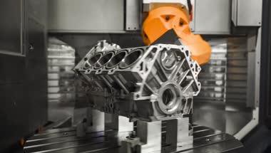 工厂机械加工高清实拍视频素材